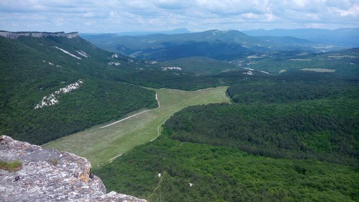 Вид с плато Мангуп. © secrethistory.su
