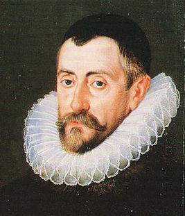 Портрет Фрэнсиса Уолсингема (фрагмент) работы Джона де Крица Старшего, ок. 1585 г.