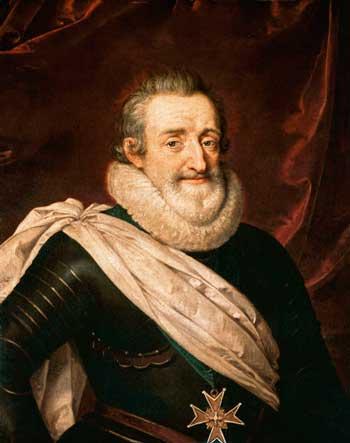 король Франции Генрих IV Наваррский