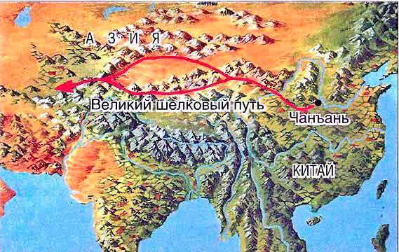 Формирование и развитие отношений Китая с населением Центральной Азии после начала функционирования шелкового пути