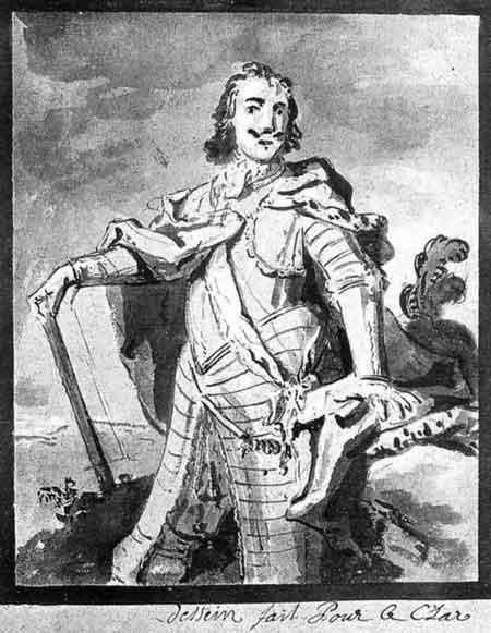 Ж.-Б. Удри. Петр I. Франция. 1717 г.