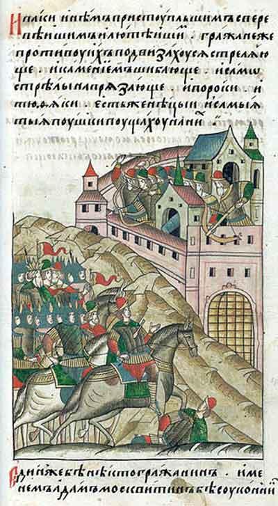 Тохтамыш под Москвой