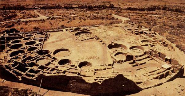 Руины двенадцати селений анасази сохранились в каньоне Гран-Чико. X-XII вв. н.э.