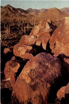 Петроглифы космогонического характера, Аризона