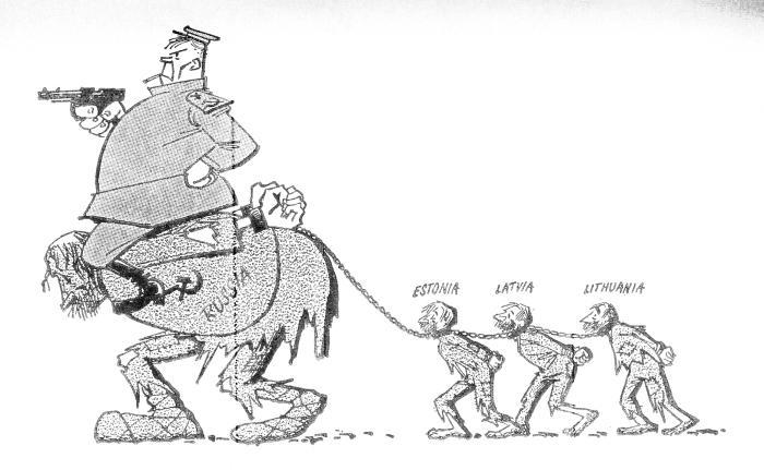Миф добровольного присоединения к СССР государств Прибалтики