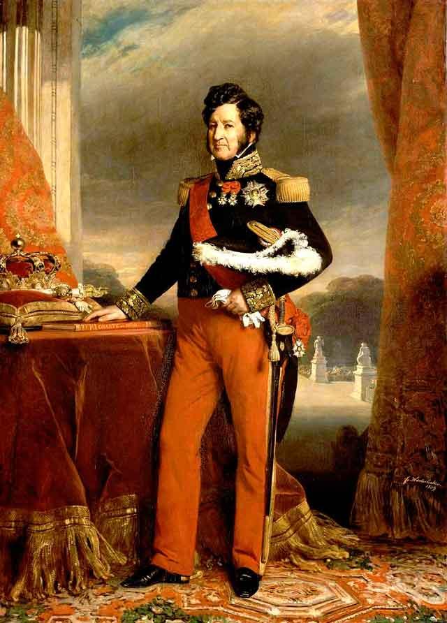 Король Луи Филипп Орлеанский