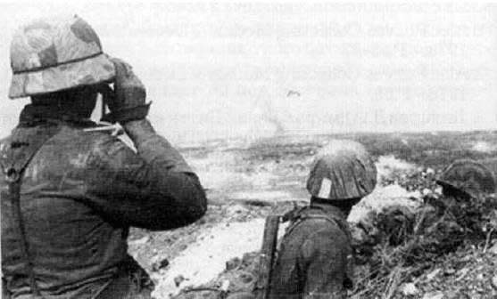Немецкие войска на подступах Балаклавы, осень. l94l г