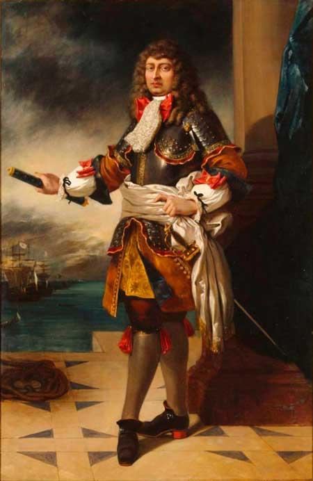 Господин де Турвиль родился в Париже в 1642 году и принадлежал к древнему аристократическому роду. Его служение военно-морскому делу было предрешено с раннего детства, когда пятилетнего мальчика приняли «несовершеннолетним рыцарем» в Мальтийский орден. Суровая школа воспитания христианских воинов-моряков превратила его в храброго, дисциплинированного и эрудированного офицера. Уже в начале своей карьеры де Турвиль совершил такие подвиги, что его имя обросло на Средиземноморье легендами.
