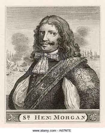 Сэр Генри Морган, «адмирал» флибустьеров