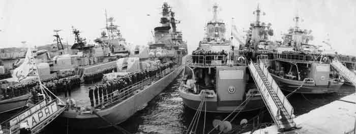 Тихоокеанский флот во времена СССР