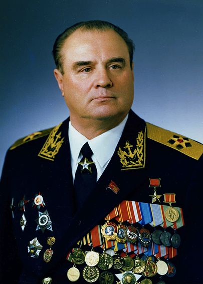 командующий Тихоокеанским Флотом Николай Иванович Смирнов