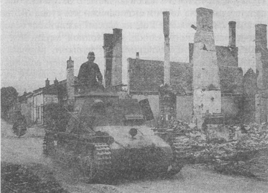 Командирский танк на базе Pz.I Ausf.B.