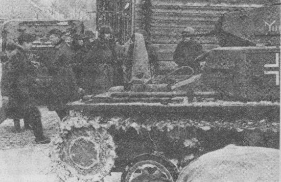 Pz.I штаба 7-го танкового полка 10-й танковой дивизии. Восточный фронт, начало 1942 года.
