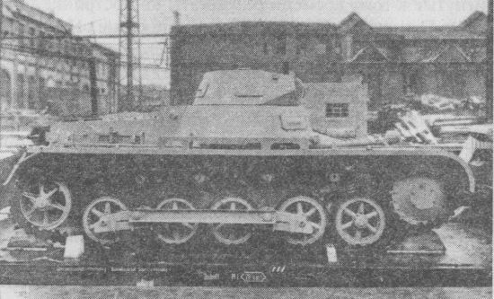 Pz.I Ausf.B отличался от модели А главным образом ходовой частью и силовой установкой.