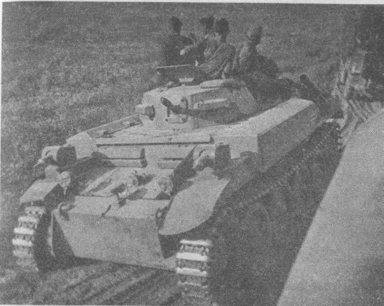 К 22 июня 1941 года огнемётными танками Flammpanzer II были укомплектованы 100-й и 101-й огнемётные танковые батальоны.