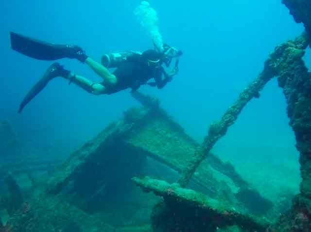 Ученые нашли судовой архив при исследовании парохода Boy Feddersen, затонувшего во время Великой Отечественной войны