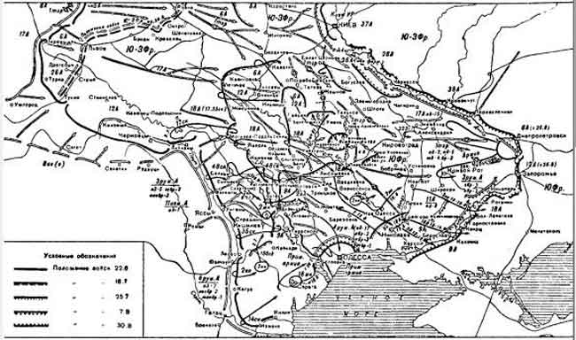 Боевые действия войск Южного фронта с июня по август 1941 года
