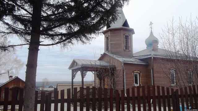 Церковь святителя Луки в Большой Мурте