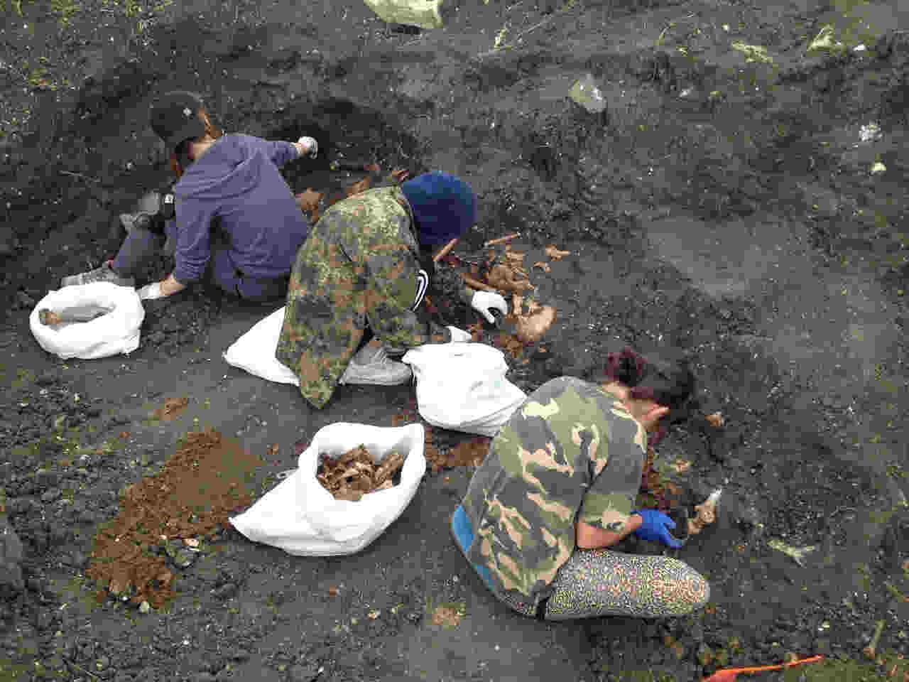 Экспедиционный лагерь находился в районе станции Владиславовка, там же планировалось проводить поиски