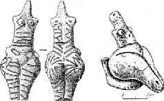 Женские культовые фигурки. Раннее Триполье