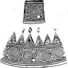 Орнамент на наконечнике копья из Бородинского клада