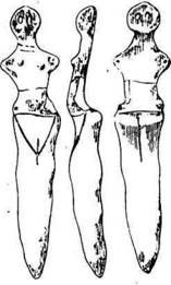трипольская фигурка