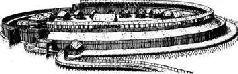 Реконструкция городища ободритов Берен-Любшин, XI век