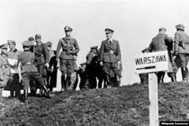 Начало немецкого наступления на Польшу