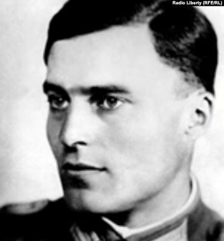 Граф Клаус Шенк фон Штауффенберг, один из лидеров заговора военных в 1944 году