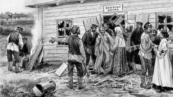 Чумной бунт в Севастополе