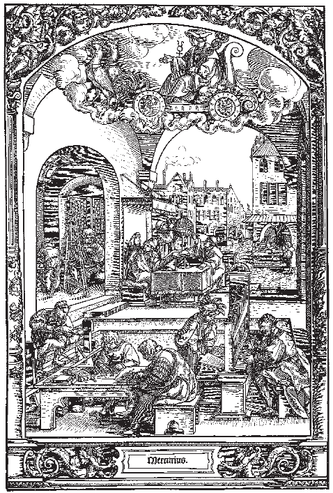 Городская жизнь в Германии в первой половине XVI века