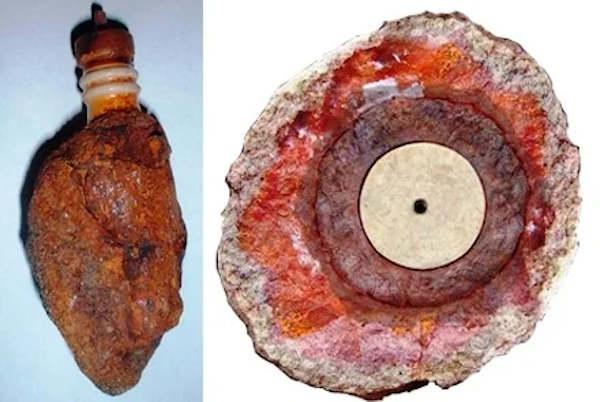 Этот артефакт был найден в 1961 г. в горах Калифорнии