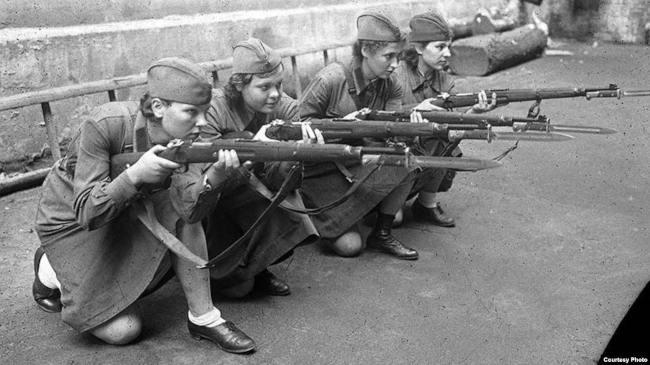 женская добровольческая стрелковая бригада