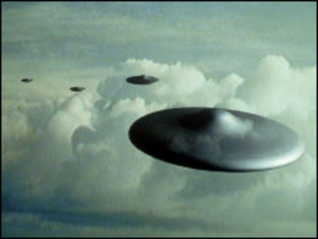 небесные корабли - НЛО