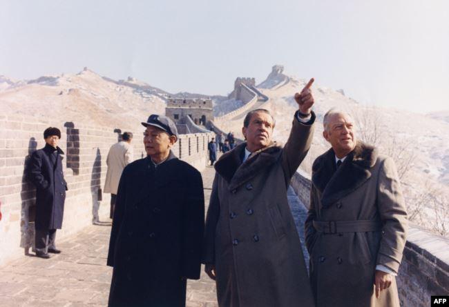 Ричард Никсон в Китае, 1972 год