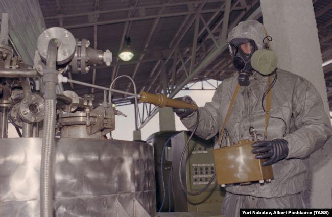 Передвижной комплекс для уничтожения химического оружия