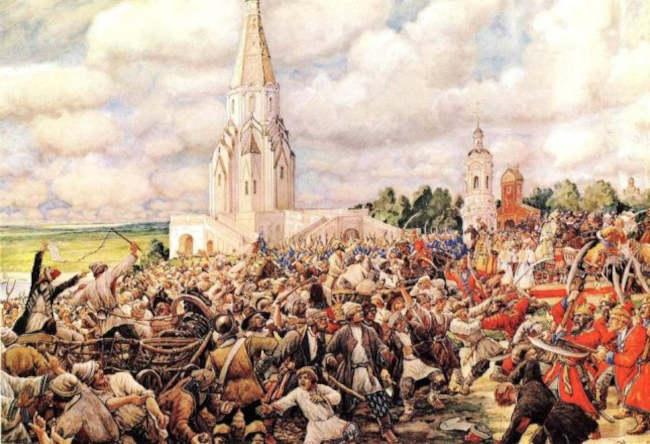 Псковское восстание - хлебный бунт