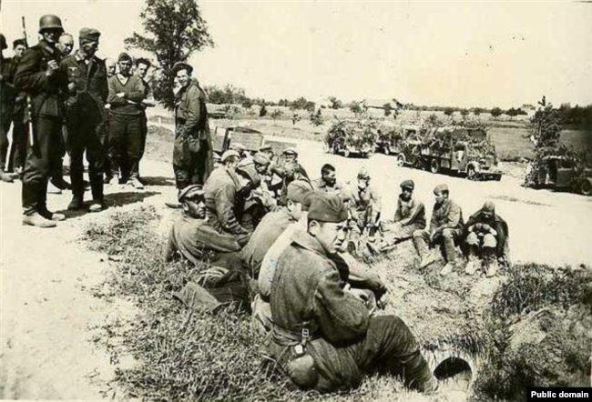 Советские военнопленные, 1941 год