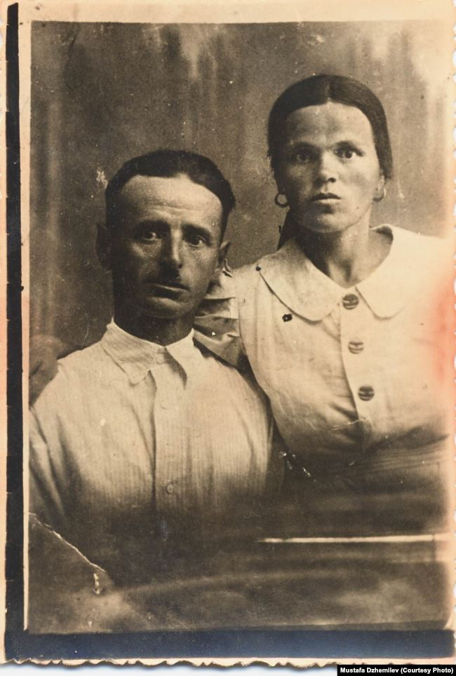Родители Мустафы Джемилева
