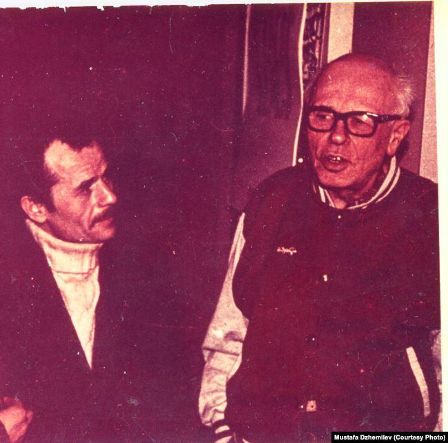 Мустафа Джемилев и Андрей Сахаров