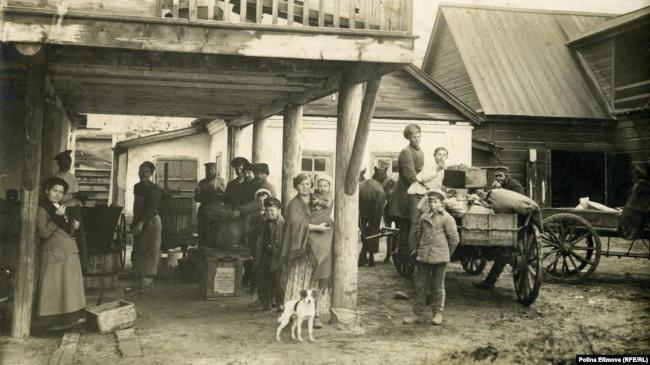 Казачье подворье до 1917 года