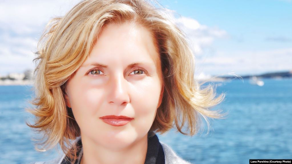 российско-американская журналистка Лана Паршина