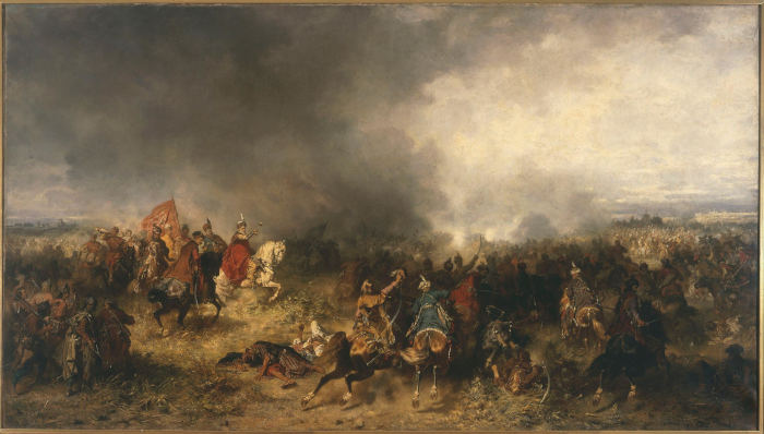 Юзеф Брандт. Хотинская битва. 1867 год