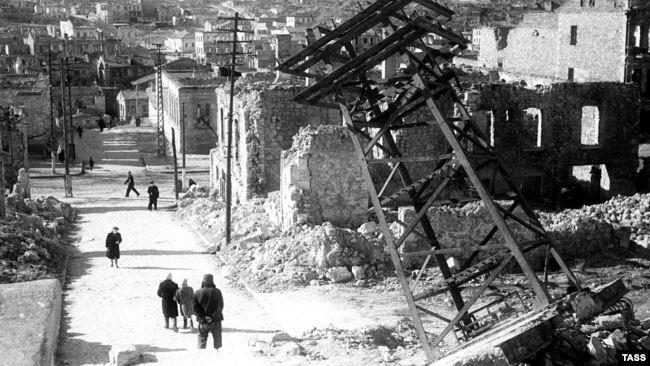 Севастополь, 1944 год