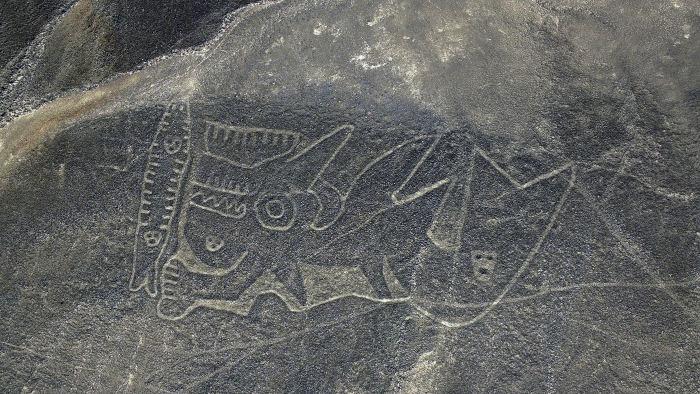 Загадочные рисунки в перуанской пустыне Наска