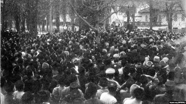 Открытие Первого Курултая крымскотатарского народа. 1917 год
