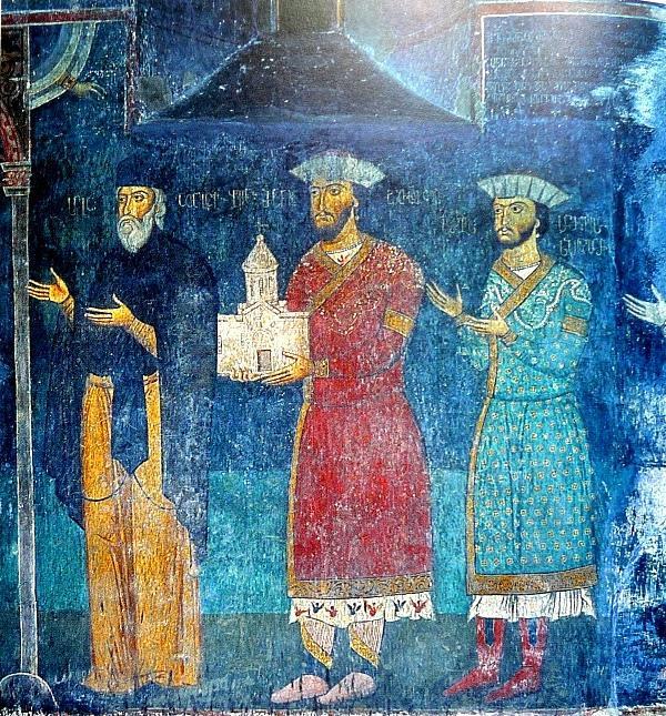 Светские и клерикальные феодалы из рода Джакели