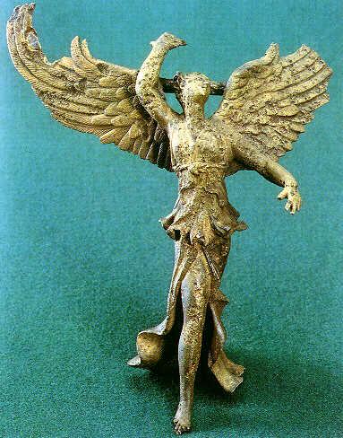 В Вани найдена бронзовая фигурка богини победы Ники