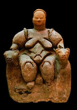 Образ богини-матери в древних эпосах