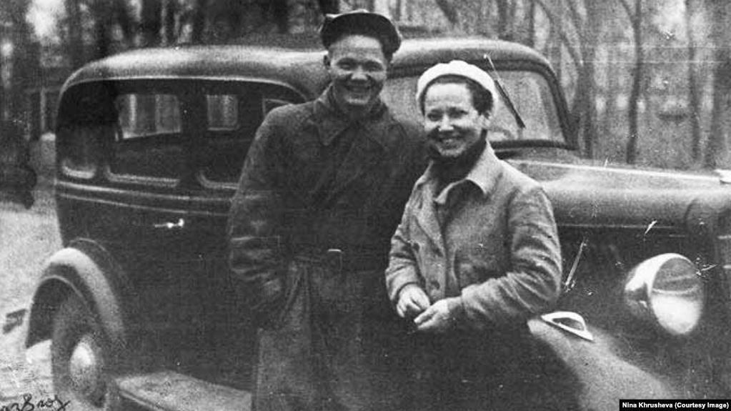 Люба Сизых и Леонид Хрущёв, 1938